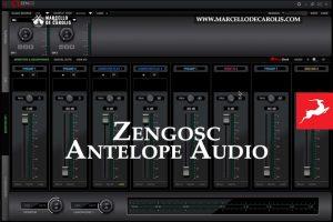 Zengosc Control panel di Antelope audio
