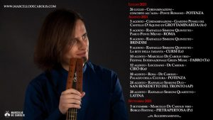Concerti estate 2021 di chitarra battente e chitarra classica di Marcello De Carolis