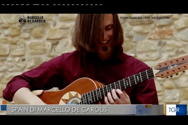 Spain - TGR Basilicata servizio sul videoclip di Marcello De Carolis