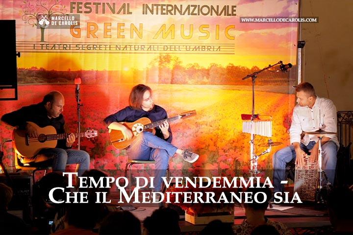 Tempo di vendemmia che il mediterraneo sia concerto di chitarra battente