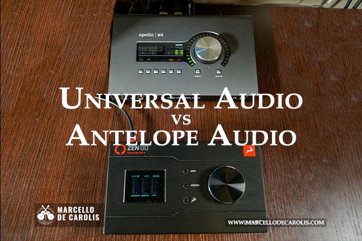 Universal Audio vs Antelope Audio