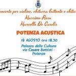 Concerto di chitarra e violino a potenza con Massimo Rosa e Marcello De Carolis