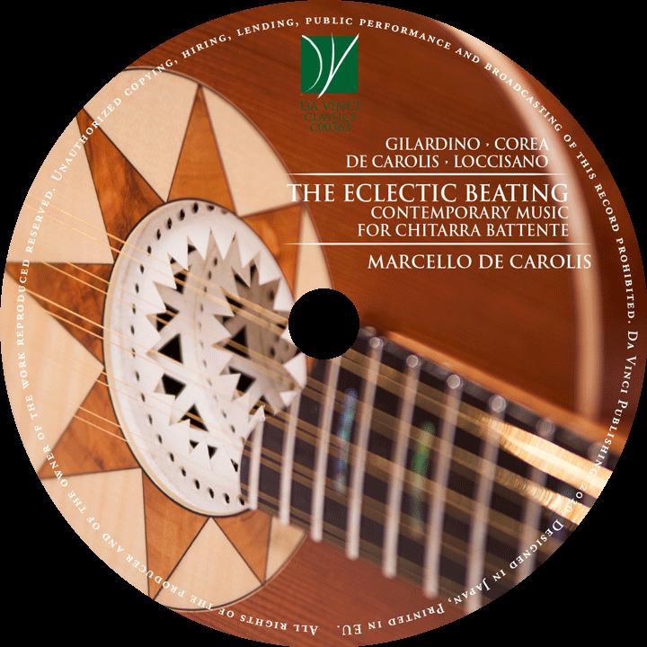 The eclectic beating - contemporary music for Chitarra Battente Marcello De Carolis