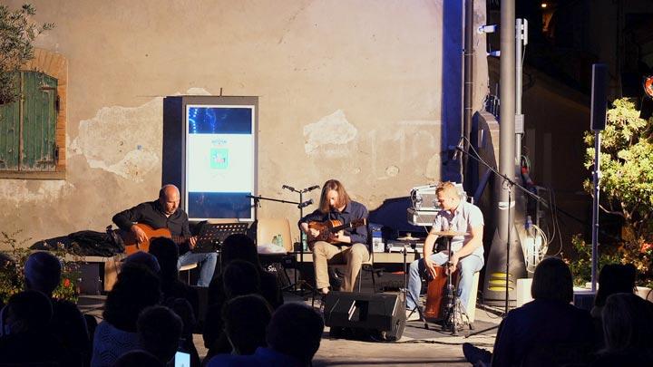 Marcello De Carolis trio in concerto chitarra Castelmezzano Potenza Basilicata