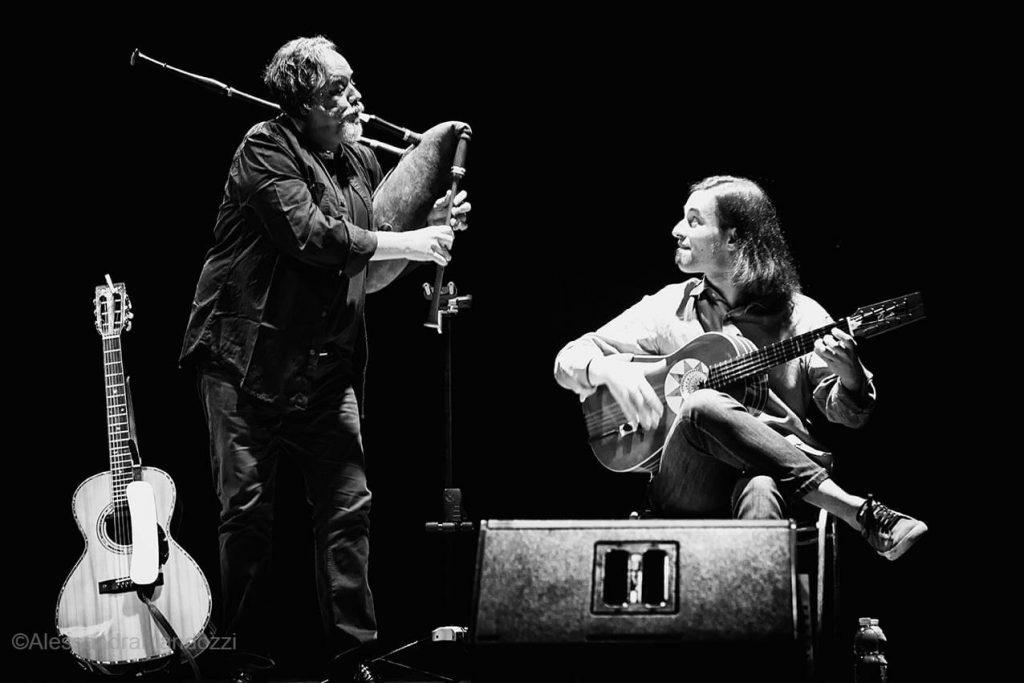 Raffaello Simeoni e Marcello De Carolis in concerto a San Benedetto del Tronto