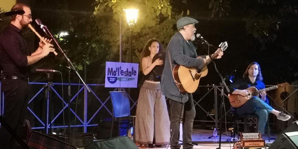 Raffaello Simeoni in concerto a San Marco in Lamis in provincia di Foggia